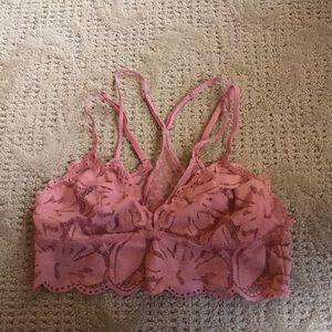 Pink Aerie Bralette. Size Medium